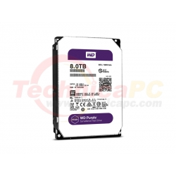 Western Digital Purple 8TB SATA3 WD80PURX HDD Internal 3.5""