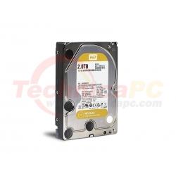 """Western Digital Gold 2TB SATA WD2005FBYZ HDD Internal 3.5"""""""