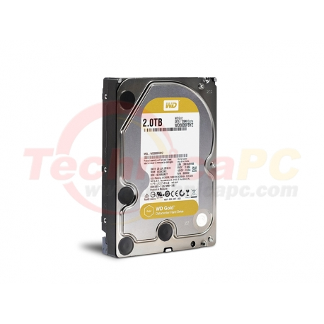 Western Digital Gold 2TB SATA WD2005FBYZ HDD Internal 3.5""