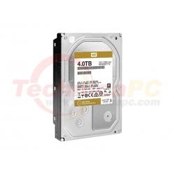 """Western Digital Gold 4TB SATA WD4005FBYZ HDD Internal 3.5"""""""