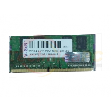 V Gen SODIMM DDR4 4GB 2133MHz PC 17000 Laptop Memory