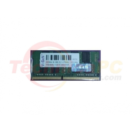 V-Gen SODIMM DDR4 8GB 2133MHz PC-17000 Laptop Memory