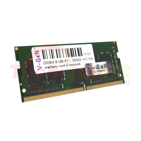 V-Gen SODIMM DDR4 8GB 2400MHz PC-19200 Laptop Memory