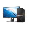 """DELL Vostro 3670MT Core i3-8100 4GB 1TB Windows 10 Pro LCD 19.5"""" Desktop PC"""