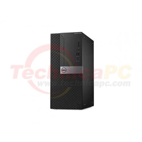 """DELL Optiplex 7060MT Core i7-8700 16GB 2TB+256GB VGA 4GB Windows 10 Pro LCD 24"""" Desktop PC"""