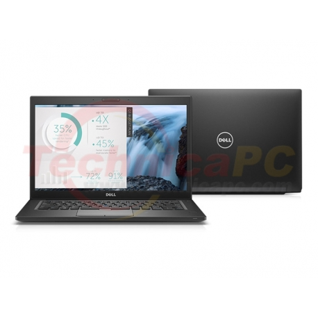 "DELL Latitude E7480 Core i7-7600U 16GB 512GB SSD Windows 10 Professional 14"" Notebook Laptop"