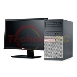 "DELL Optiplex 390MT (Mini Tower) Core i3-2120 LCD 18.5"" Desktop PC"