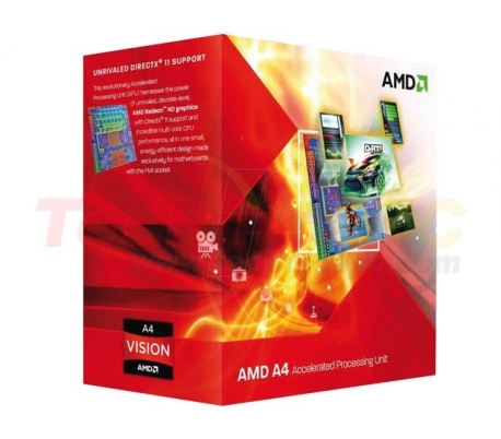 AMD LIano A4-3300 X2 2.5GHz Dual Core Desktop Processor