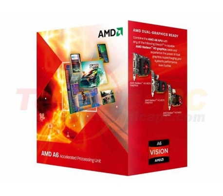 AMD LIano A6-3500 X3 2.1GHz Triple Core Desktop Processor
