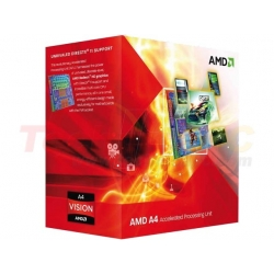 AMD LIano A4-3400 X2 2.7GHz Dual Core Desktop Processor
