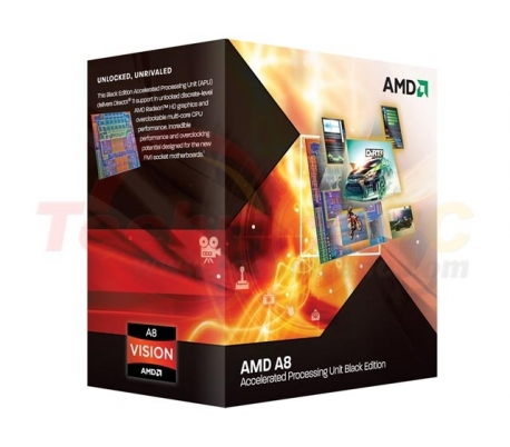 AMD LIano A8-3870K X4 3.0GHz Quad Core Desktop Processor